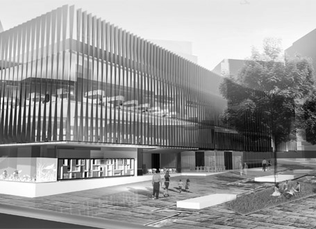 Green Square Library and Plaza Competition 3
